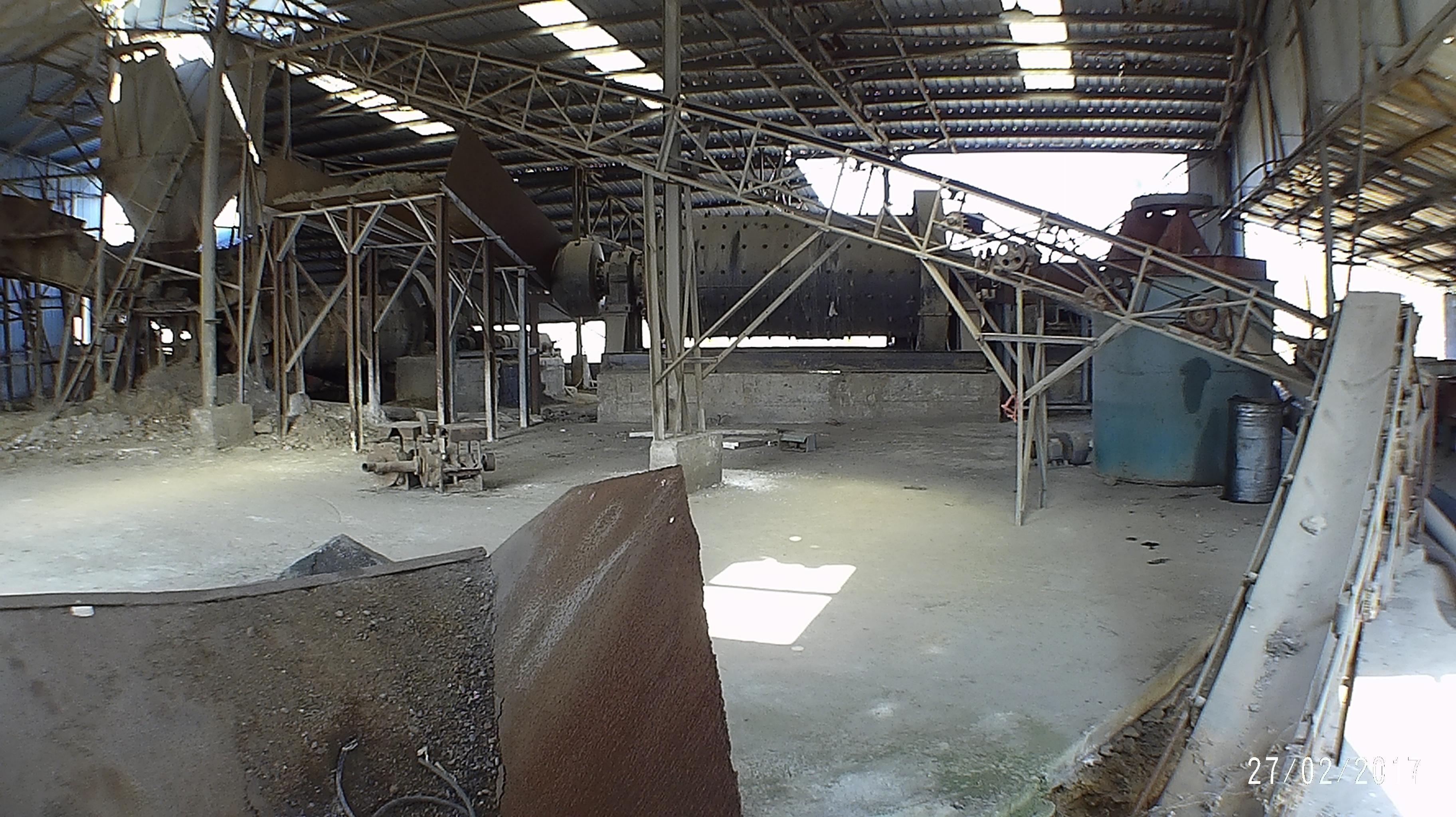 威特公司块矿加工厂